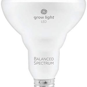 GE BR30 LED Grow Lights for Indoor Plants, Full Spectrum, 9-Watt Grow Light Bulb, Plant Light Bulb with Balanced Lighting for Seeds and Greens