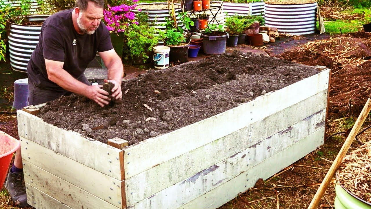 How to Fill Raised Vegetable Garden Beds and SAVE Money