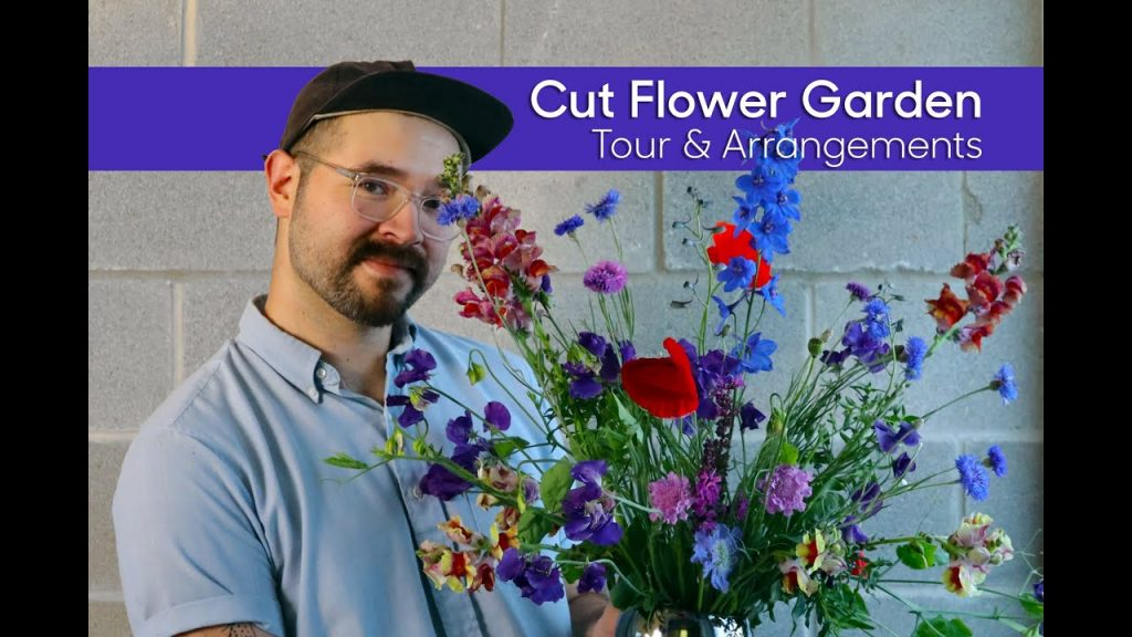 Cut Flower Garden • Tour and Making Floral Arrangements