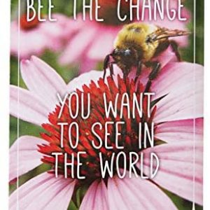 """Pre-Filled Seed Packet ''Bee The Change"""" Party Favors for Guests (Pack of 20) - Wildflower Seed Mix, Plant Year-Round, Great Gift for Hostesses, Showers, Weddings, Thank You"""