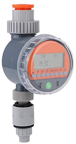 YITingKYTOP G1-1/4 DN32 Water Timers, Sprinkler Timer/Auto Watering Mode/Waterproof, Irrigation Timer for Garden