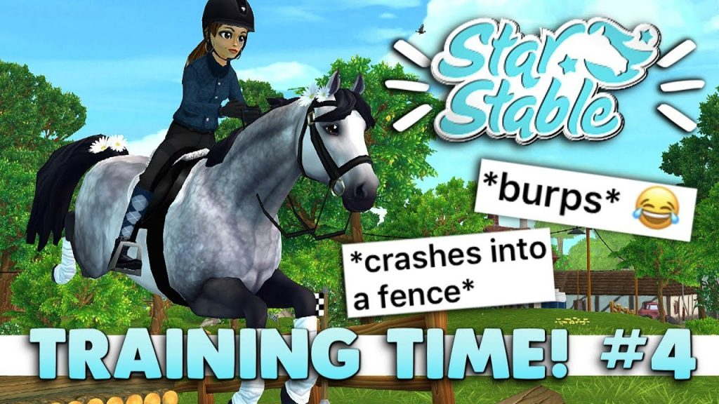 Star Stable Training Time #4 - Getting Roasted 🔥