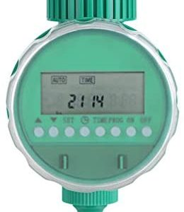 Water Timer, Automatic Digital Sprinkler Timer for Outdoor Garden and Lawn Dig Drip Irrigation Timer