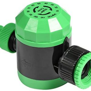 Automatic Shut-off Water Timer Irrigation Timer Lawn Flowerbed Irrigation System for Outdoor Garden Hose