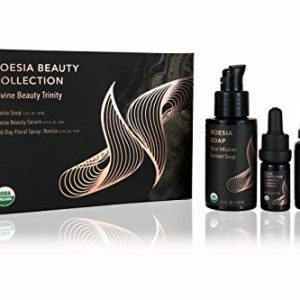 Nourishe Roesia Beauty Luxury Skincare Collection, Facial Cleanser, Serum, and Spray Set