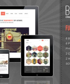 Bigbang - Responsive WordPress Theme
