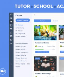 WPLMS Learning Management System for WordPress, Education Theme