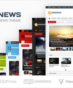 Goodnews – Responsive WordPress News/Magazine