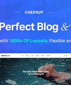 CheerUp - Food, Blog & Magazine