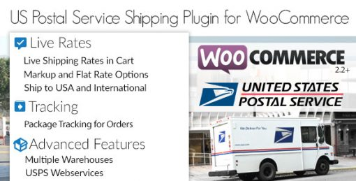 US Postal Service USPS WooCommerce Shipping Plugin for Rates and Tracking