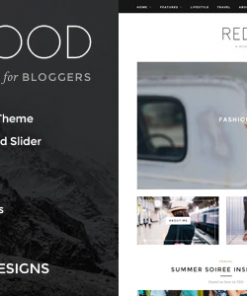 Redwood - A Responsive WordPress Blog Theme