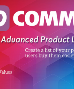 WooCommerce Product Listing