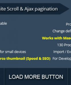 WooCommerce Infinite Scroll and Ajax Pagination