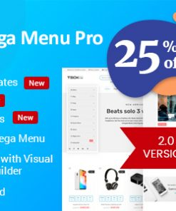 WP Mega Menu Pro - Responsive Mega Menu Plugin for WordPress