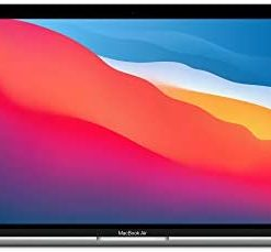 New Apple MacBook Air with Apple M1 Chip (13-inch, 8GB RAM, 256GB SSD Storage) - Silver (Latest Model)