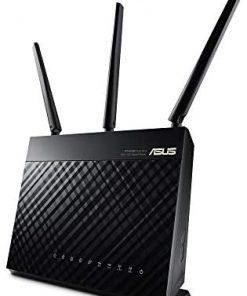 ASUS AC1900 WiFi Gaming Router (RT-AC68U) - Dual Band Gigabit Wireless Internet Router, Gaming & Streaming, AiMesh Compatible, Free Lifetime Internet Security, Adaptive QoS, Parental Control