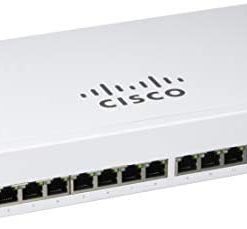 Cisco Business CBS110-16T-D Unmanaged Switch | 16 Port GE | Limited Lifetime Protection (CBS110-16T-D)