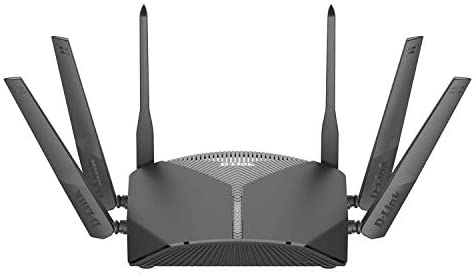 D-Link WiFi Router AC3000 Mesh Smart Internet Network Works with Alexa & Google Assistant, MU-MIMO Tri Band Gigabit Gaming Mesh (DIR-3040-US) Black