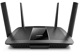 Linksys AC2600 Smart Wi-Fi Router for Home Network, MU-MIMO Dual Band Wireless Gigabit WiFi Router, Fast Speeds up to 2.6 Gbps, coverage up to 1,800 sq ft, Parental Controls, up to 15 devices (EA8100)