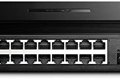 TP-Link 16 Port 10/100Mbps Fast Ethernet Switch | Desktop or Wall-Mounting | Plastic Case Ethernet Splitter | Unshielded Network Switch | Plug and Play | Fanless Quiet | Unmanaged (TL-SF1016D)