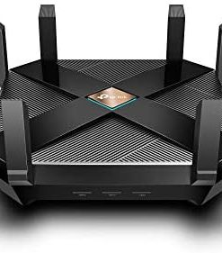 TP-Link AX6000 WiFi 6 Router, 8-Stream Smart WiFi Router (Archer AX6000) - Next-Gen 802.11ax Wireless Router, 2.5G WAN Port, 8 Gigabit LAN Ports, MU-MIMO, 1.8GHz Quad-Core CPU, USB 3.0