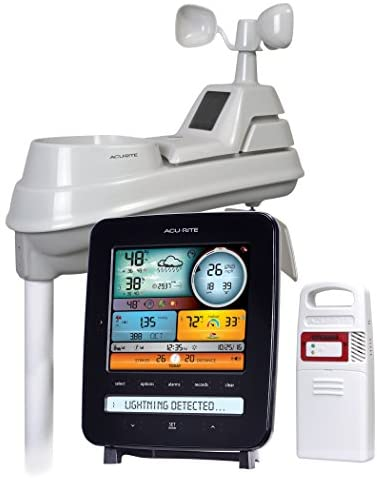 AcuRite Iris (5-in-1) 01022M Pro Weather Station Detector (01022), Lightning Detection