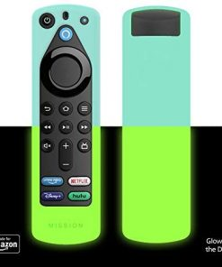 All New, Made for Amazon Remote Cover Case, for Alexa Voice Remote (3rd Gen) - Glow in the Dark
