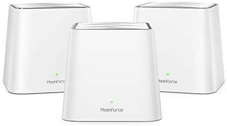 Meshforce Mesh WiFi System M3s Suite (Set of 3) - Up to 6,000 sq. ft. Whole Home Coverage - Gigabit WiFi Router Replacement - Mesh Router for Wireless Internet