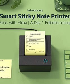 Smart Sticky Note Printer | Works with Alexa | A Day 1 Editions concept