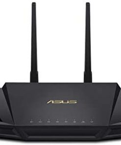 ASUS WiFi 6 Router (RT-AX3000) - Dual Band Gigabit Wireless Internet Router, Gaming & Streaming, AiMesh Compatible, Included Lifetime Internet Security, Parental Control, MU-MIMO, OFDMA