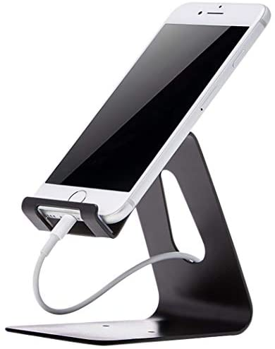 Amazon Basics AMZ-CPS-BK Cell Phone Stand for iPhone and Android, Black