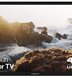 Furrion Aurora - Partial Sun Series 49-Inch Weatherproof 4K Ultra-High Definition LED Outdoor Television with Auto-Brightness Control for Outdoor Entertainment - FDUP49CBR