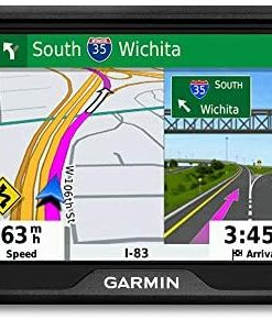 """Garmin Drive 52, GPS Navigator with 5"""" Display, Simple On-Screen Menus and Easy-to-See Maps"""