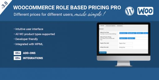 Role Based Pricing Pro For WooCommerce
