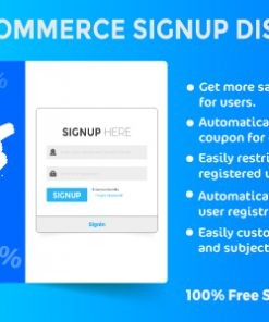 Woocommerce Signup Discount