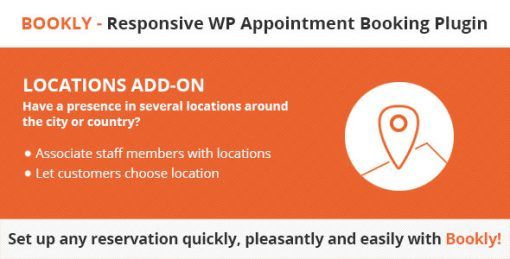 Bookly Locations (Add-on)