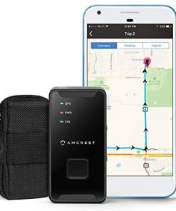Amcrest GPS GL300 GPS Tracker for Vehicles (4G LTE) - Portable Mini Hidden Real-Time GPS Tracking Device for Vehicles, Cars, Kids, Persons, Assets w/Geo-Fencing, Text/Email/Push Alerts, 14 Day Battery