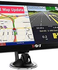 GPS Navigation for Car Truck Drivers Xgody 7-inch Navigation Systems for Car with Voice Guidance and Speed Camera Warning 2021 Americas Maps Free Lifetime Map Update