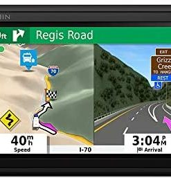 """Garmin RV 785 & Traffic, Advanced GPS Navigator for RVs with Built-in Dash Cam, High-res 7"""" Touch Display, Voice-Activated Navigation"""