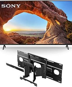 Sony X85J 65 Inch TV: 4K Ultra HD LED Smart Google TV with Dolby Vision HDR and Alexa Compatibility 2021 Model with SU-WL855 Ultra Slim Wall-Mount Bracket for Select Sony BRAVIA OLED and LED TVs