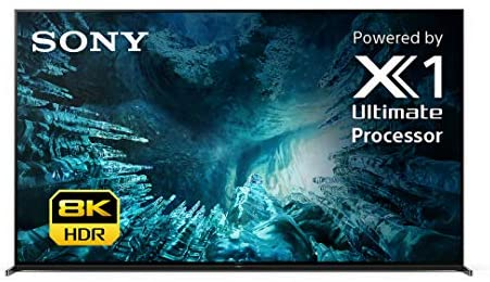 Sony Z8H 75 Inch TV: 8K Ultra HD Smart LED TV with HDR and Alexa Compatibility - 2020 Model
