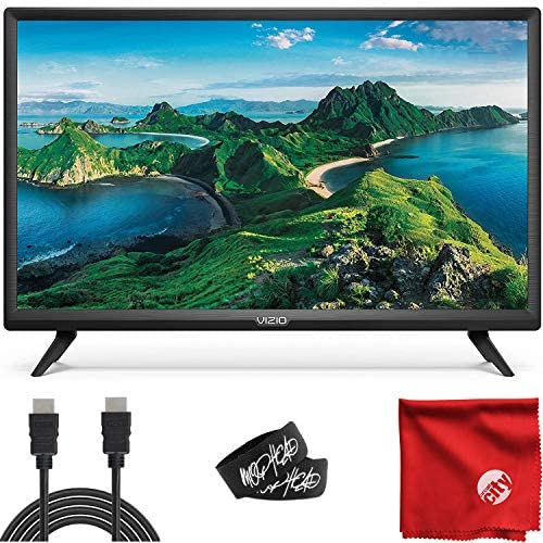 VIZIO D-Series 32-Inch Class 1080p Full HD LED Smart TV (D32F-G1) with Built-in HDMI, USB, SmartCast, Voice Control Bundle with Circuit City 6-Feet 4K HDMI Cable and Accessories