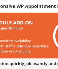 Bookly Service Schedule (Add-on)