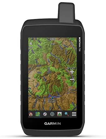"""Garmin Montana 700, Rugged GPS Handheld, Routable Mapping for Roads and Trails, Glove-Friendly 5"""" Color Touchscreen"""