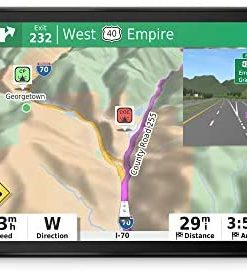 """Garmin RV 890, GPS Navigator for RVs with Edge-to-Edge 8"""" Display, Preloaded Campgrounds, Custom Routing and More"""