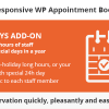 Bookly Special Days (Add-on)
