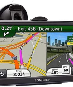 7inch GPS Navigation for Car Truck GPS Big Touchscreen Truck GPS Vehicle GPS Navigation System with POI Speed Camera Warning Voice Guidance Lane and Free Lifetime Map Updates