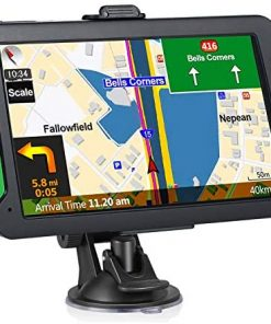 Car GPS Navigation, Aonerex 7-inch HD Touch Screen, 8GB 256 Satellite Navigation, Real-time Voice Reminder, Speeding Warning, Route Planning, Free Lifetime Map Update (7 inches)…