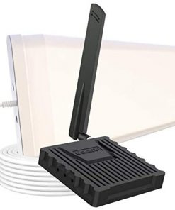 SolidRF Cell Phone Signal Booster Kit,All U.S. Carriers Verizon, AT&T, T-Mobile & More,5 Bands Cell Phone Booster for Home,Fcc Approved