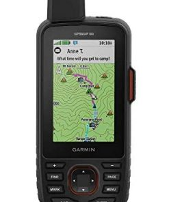 Garmin GPSMAP 66i, GPS Handheld and Satellite Communicator, Featuring TopoActive mapping and inReach Technology (Renewed)